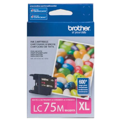 LC-75 | Original Brother High-Yield Ink Cartridge – Magenta