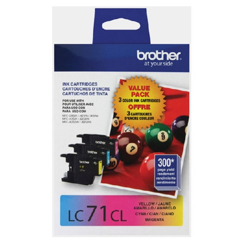 Original Brother LC713PKS OEM ink for Brother® MFCJ280w, MFCJ410w, MFCJ425w, MFCJ430w, MFCJ435w, MFCJ625dw, MFCJ825dw, MFCJ835dw, MFCJ5910dw, MFCJ6510dw, MFCJ6710dw, MFCJ6910dw.