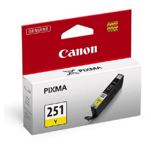 6516B001 | Canon CLI-251 | Original Canon Ink Cartridge - Yellow