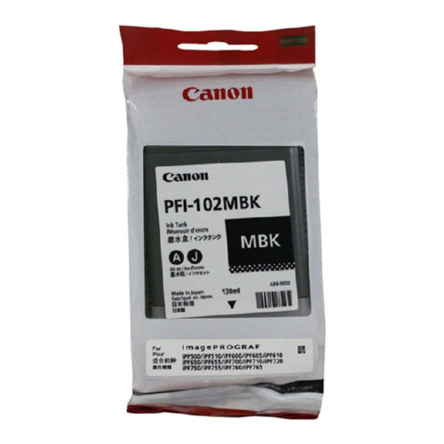 0894B001 | Canon PFI-102 | Original Canon Ink Cartridge - Matte Black