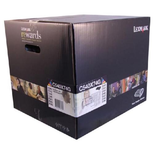 C540X74G   Original Lexmark Imaging Unit – Black, Color