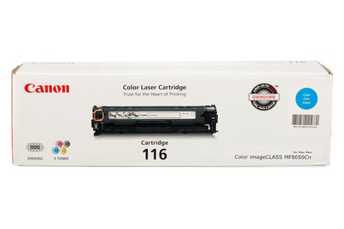 1979B001 | Canon 116 | Original Canon Laser Toner Cartridge - Cyan