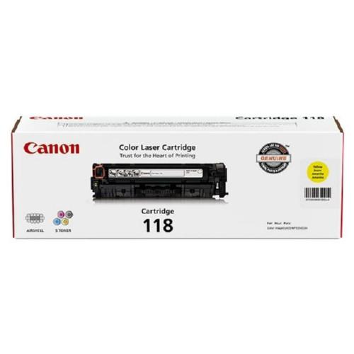 2659B001   Canon 118   Original Canon Toner Cartridge - Black