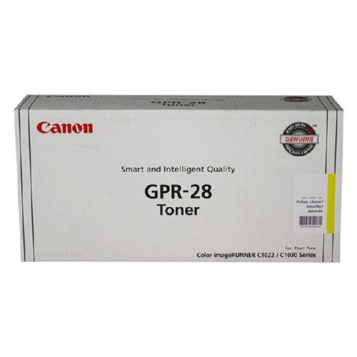 1657B004   Canon GPR-28   Original Canon Toner Cartridge - Yellow