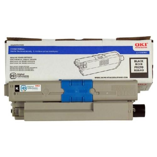 44469801   Original OKI OEM Toner Cartridge - Black