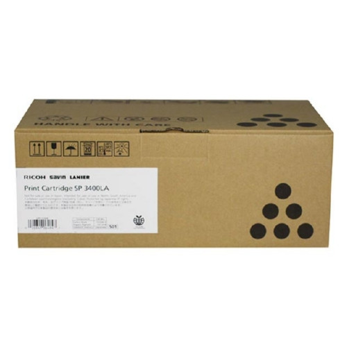 406464 | Original Ricoh OEM Toner for Ricoh, SP3400 Series - Black