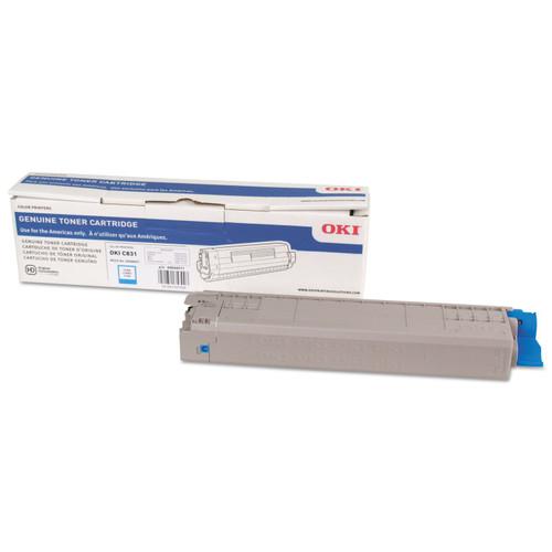 44844511   Original OKI Toner Cartridge - Cyan