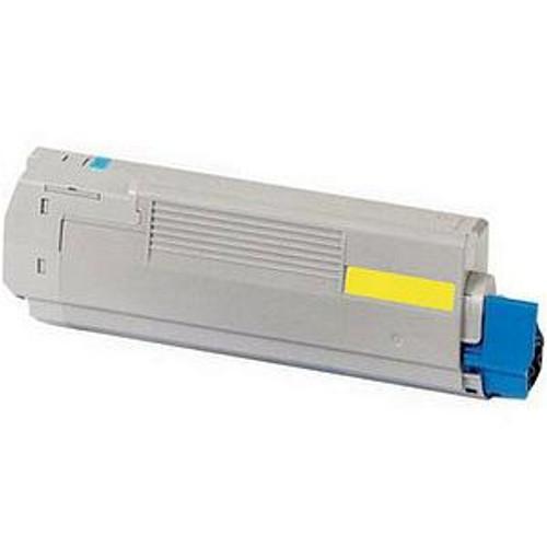 45536421 | Original OKI Toner Cartridge - Yellow