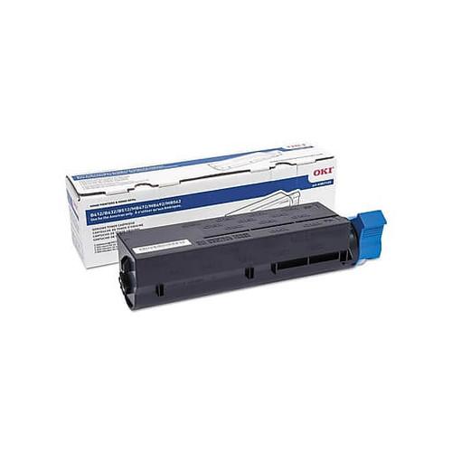 45807101   Original OKI Okidata  Toner Cartridge - Black