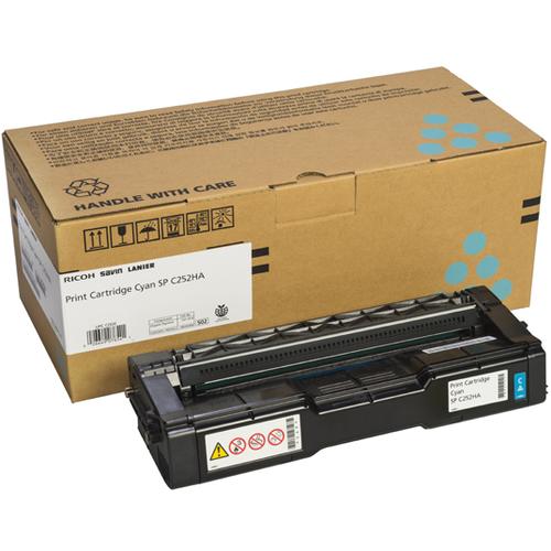 407654   Original Ricoh OEM Toner Cartridge - Cyan