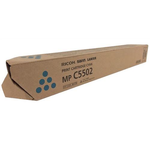 841754   Original Ricoh Toner Cartridge - Cyan