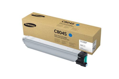 CLT-C804S | Original Samsung Toner Cartridge - Light Blue