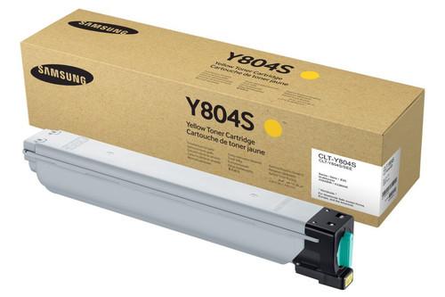 CLT-Y804S | Original Samsung Toner Cartridge - Yellow