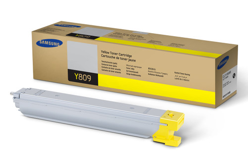 CLT-Y809S | Original Samsung Toner Cartridge – Yellow