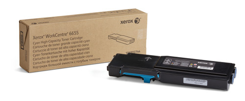 106R02744 | Original Xerox Toner Cartridge Laser - Cyan