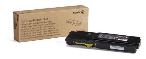 106R02746 | Original Xerox Toner Cartridge - Yellow