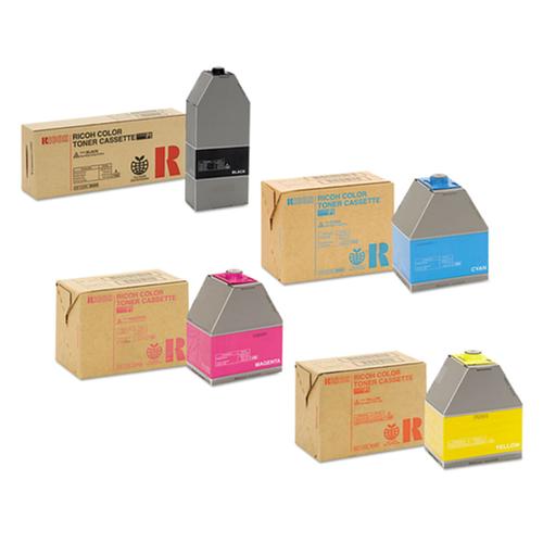 Ricoh Type P1 Set | 884900 884901 884902 884903 | Original Ricoh Laser Toner Cartridges – Black, Cyan, Magenta, Yellow