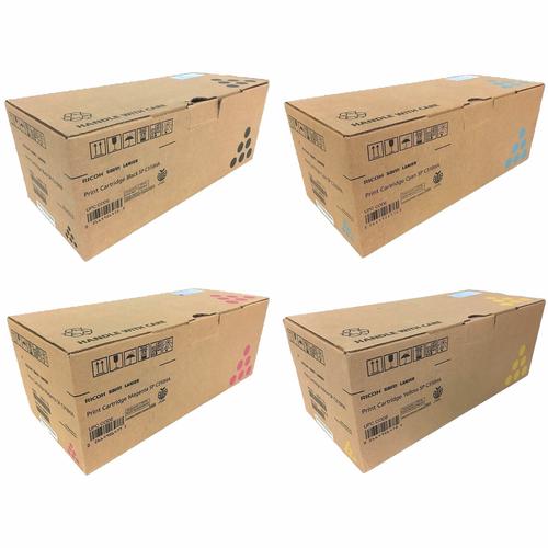 Ricoh SP-C310A HY Set | 406475 406476 406477 406478 | Original Ricoh Laser High-Yield Toner Cartridges – Black, Cyan, Magenta, Yellow