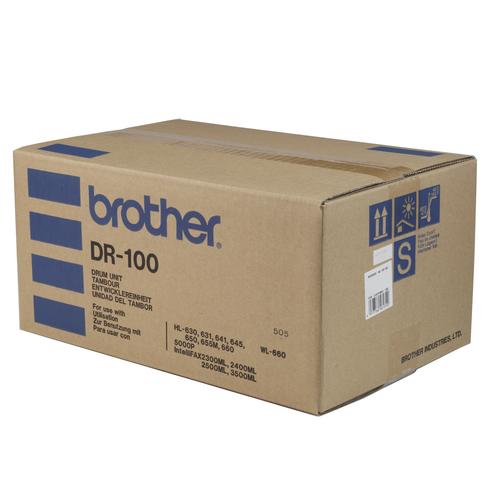 Original Brother DR-100 Black Laser Drum Unit