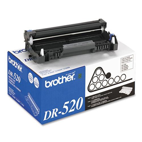 Original Brother DR-520 Black Drum Unit