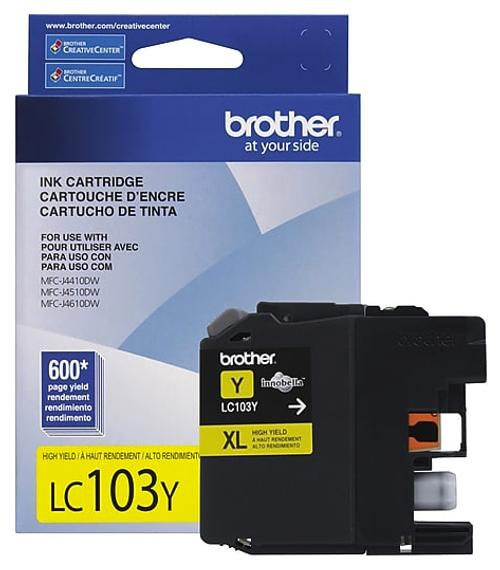 Original Brother LC-103 Yellow Ink Cartridge