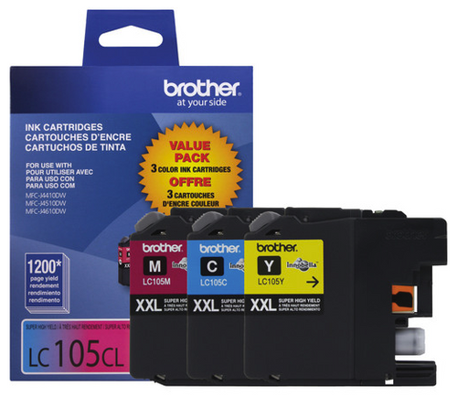 Brother LC-1053PKS Super High-Yield Ink Cartridge Set