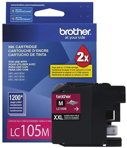 Original Brother LC-105 Magenta Super High Yield Ink Cartridge