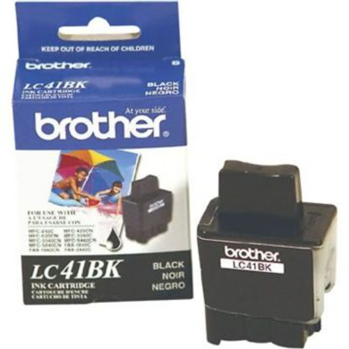 Original Brother LC-41BK Black Ink Cartridge