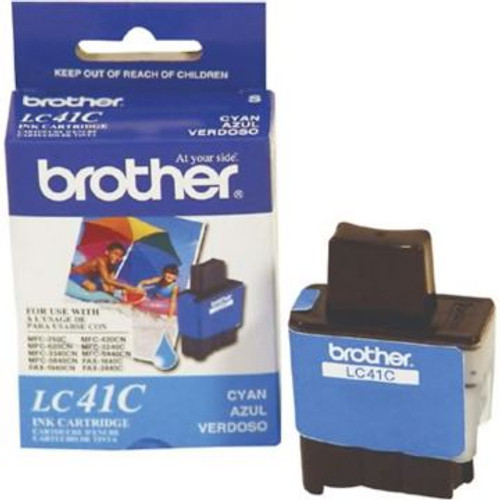 Original Brother LC-41C Cyan Ink Cartridge