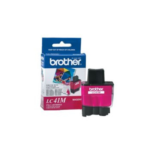 Original Brother LC-41M Magenta Ink Cartridge
