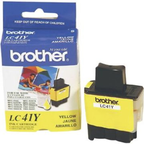 Original Brother LC-41Y Yellow Ink Cartridge