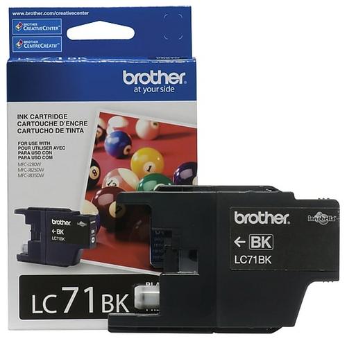 Original Brother LC-71 Black Ink Cartridge