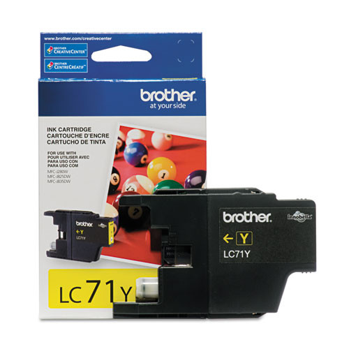 Original Brother LC-71 Yellow Ink Cartridge