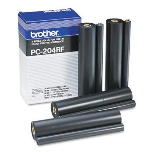 Original Brother PC204RF Ribbon Refills 4 Pack