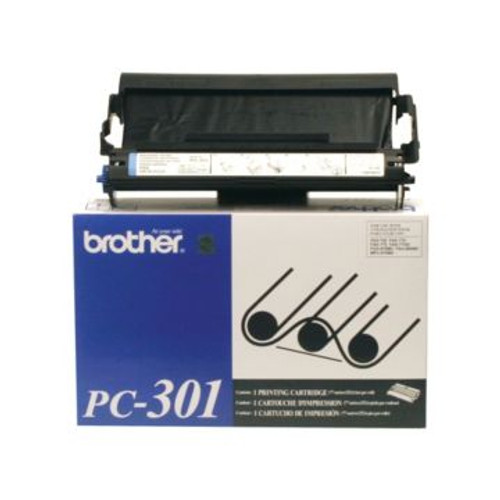 Original Brother PC-301 Black Thermal Transfer Print Cartridge