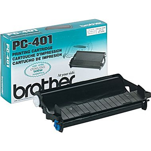 Original Brother PC-401 Thermal Transfer Print Cartridge