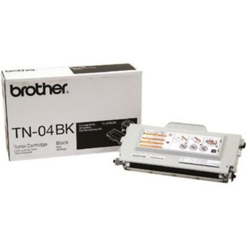 Original Brother TN-04BK Black Laser Toner Cartridge