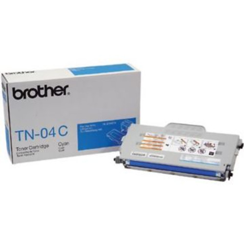 Original Brother TN-04C Cyan Laser Toner Cartridge