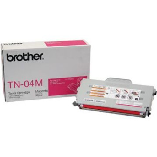 Original Brother TN-04M Magenta Laser Toner Cartridge