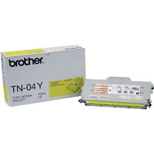 Original Brother TN-04Y Yellow Laser Toner Cartridge