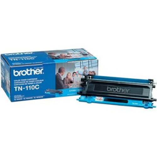 Original Brother TN-110C Cyan Laser Toner Cartridge