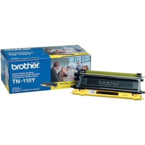 Original Brother TN-110Y Yellow Toner Cartridge