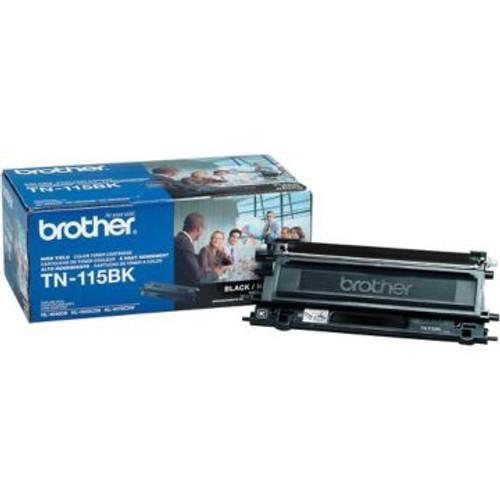 Original Brother TN-115BK Black High-Yield Laser Toner Cartridge