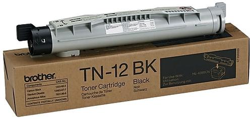 Original Brother TN-12 Black Laser Toner Cartridge