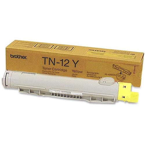 Original Brother TN-12 Yellow Laser Toner Cartridge