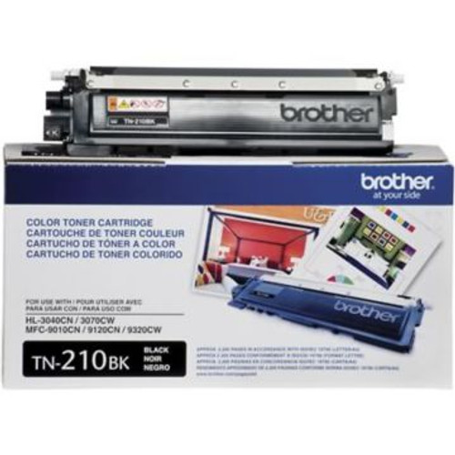 Original Brother TN-210BK Black Laser Toner Cartridge