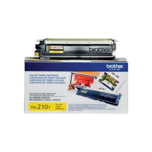 Original Brother TN-210Y Yellow Laser Toner Cartridge