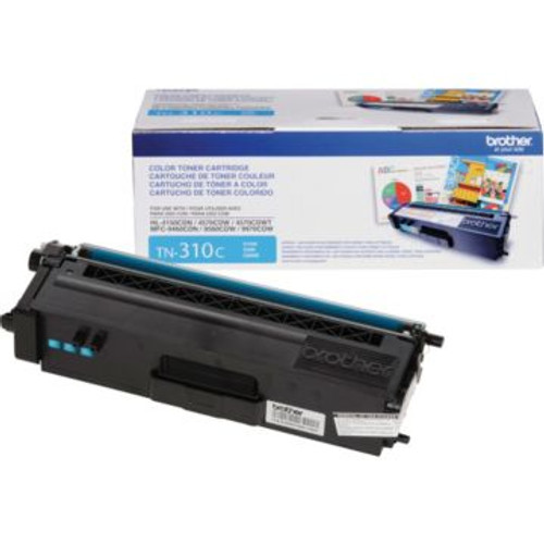 Original Brother TN-310C Cyan Laser Toner Cartridge