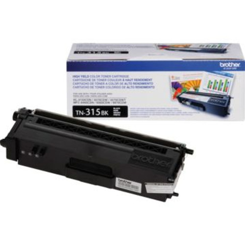 Original Brother TN-315BK Black High-Yield Laser Toner Cartridge