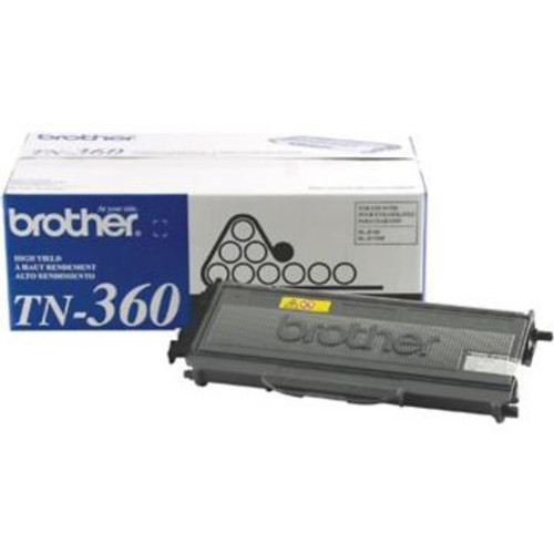 Original Brother TN-360 Black High-Yield Laser Toner Cartridge